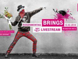 <b>Rosenmontag in 360 Grad: Telekom präsentiert Brings und Querbeat im Kölner Karneval</b>