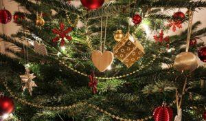 Abfuhr der Weihnachtsbäume in Menden