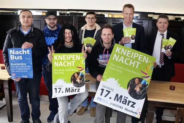 Photo of Live-Musik: KneipenNacht am 17. März in Meschede
