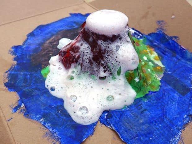 Vulkan Kinderworkshop