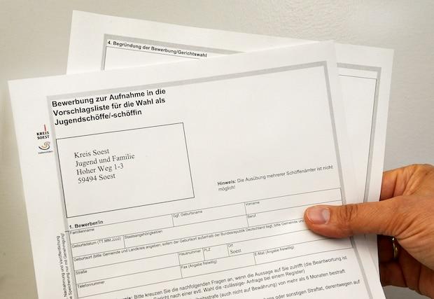 Soest - Jugendschöffen gesucht: Interessierte können sich bis zum 15. April 2018 melden
