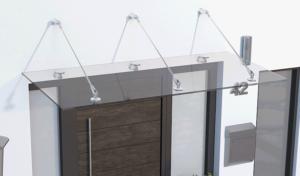 Glasvordächer am eigenen Heim