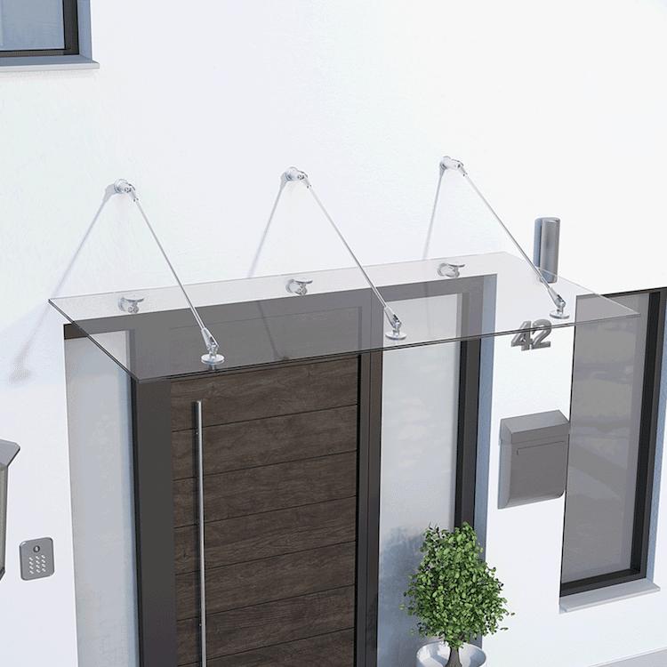 Photo of Glasvordächer am eigenen Heim
