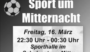 Geseke – Sport um Mitternacht am 16. März 2018