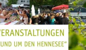 Veranstaltungen der Ferienregion – Rund um den Hennesee-