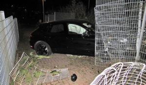 Porsche in Dortmund geklaut und verunfallt