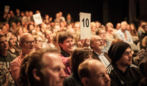 Wortakrobaten am 15. April 2018 in der Stadthalle Attendorn