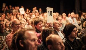 Wortakrobaten am 15. April 2018 in der Stadthalle Attendorn