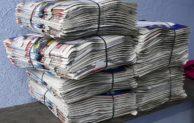 Hützemerter SV sammelt Altpapier ein