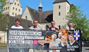 In Geseke brennt und rockt der Steinbruch mit Stefanie Heinzmann
