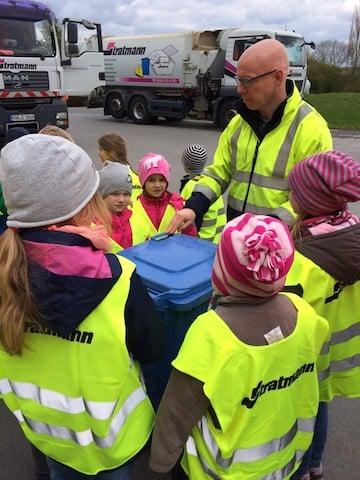 Photo of Betriebsbesichtigung für Kinder bei der Firma Stratmann