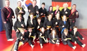 Hapkido beim TV Attendorn – Sportler meistern Prüfung