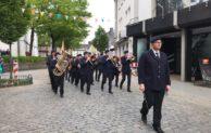 Attendorner Feuerwehrfest durch Musikzug eingeleitet
