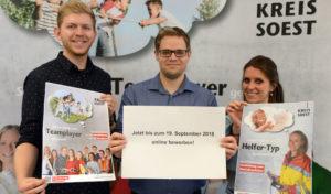 Der Kreis Soest sucht Nachwuchs  – Teamplayer – fürs Team