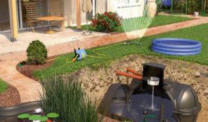 Zu schade zum verschwenden – Regenwassertank zum Wasser sparen
