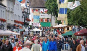 Der Holzmarkt Arnsberg bietet Information und Unterhaltung