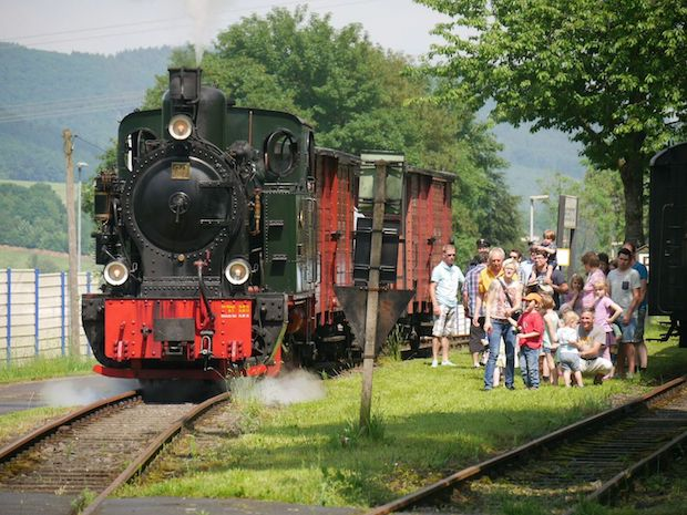 Photo of Fahrtag der Sauerländer Kleinbahn am 19. Mai 2017