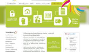 """Stadt Meschede bringt """"virtuelles Rathaus"""" direkt zum Bürger"""