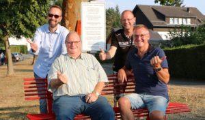 Erste Mitfahrbank in der Marsberger Kernstadt