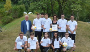 GMS Burbach-Neunkirchen bildete zum DFB-Junior-Coach aus