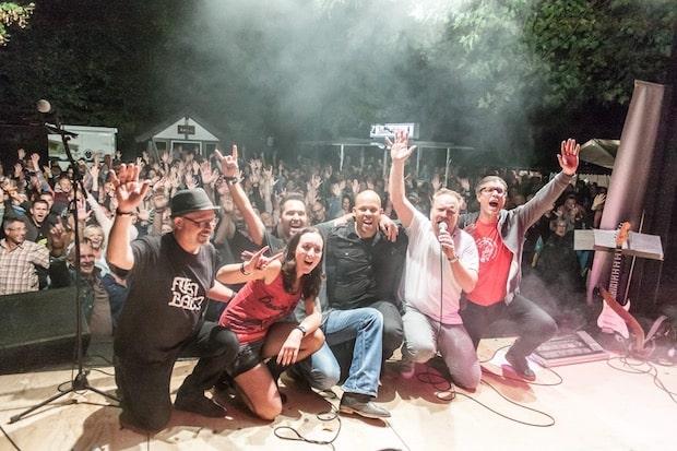 """Photo of Band """"YouWho""""ist zu Gast auf dem Stadtfest"""