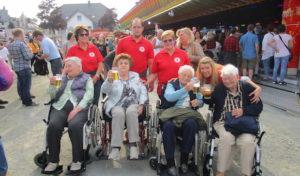 DRK-Seniorenzentrum Silbach besucht die Kirmes!