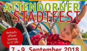 Attendorn feiert Stadtfest im September