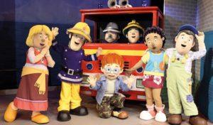 Siegen: Feuerwehrmann Sam rettet den Zirkus