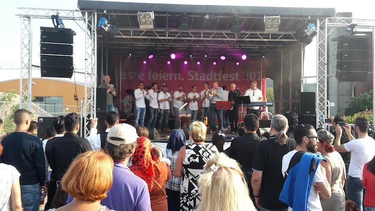 Photo of Abwechslungsreiches Programm auf dem Stadtfest
