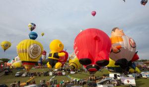 1007 Ballonstarts faszinieren Besucher