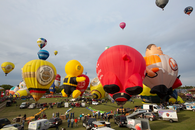 Photo of 1007 Ballonstarts faszinieren Besucher