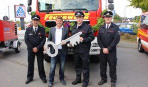 Fünf neue Fahrzeuge für die Freiwillige Feuerwehr Geseke