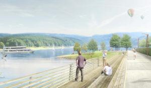 Eröffnung der Seepromenade und das Seenachtsfest 2018