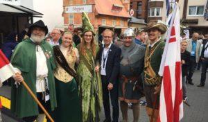 Briloner Delegation beim Hansetag in Haselünne