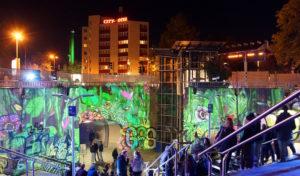 Jugendliche in 86 Städten haben die Nacht der Jugendkultur gefeiert