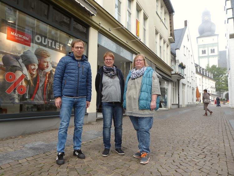 """Photo of Die ersten """"Pop-up Shop"""" in der Innenstadt"""