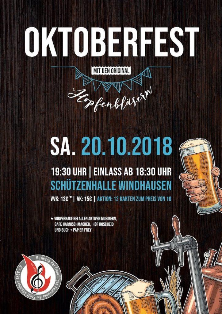 """Photo of """"O'zapft is"""" – Musikzug Attendorn feiert Oktoberfest"""