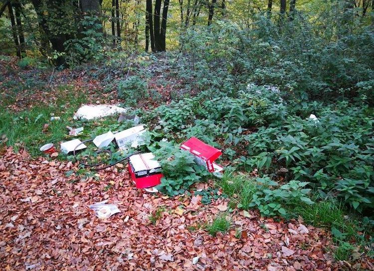 Photo of Umweltdelikt: Mehrere Kubikmeter Abfälle illegal entsorgt
