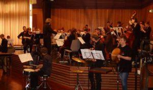 Concerto und Concertino stellen  Ergebnisse der gemeinsamen Freizeit vor