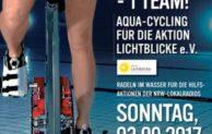 Zweites Aqua-Cycling für die Aktion Lichtblicke e.V.
