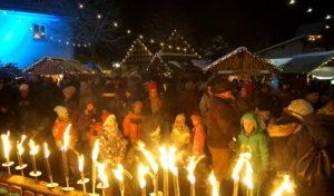 Der besondere Weihnachtsmarkt in Allendorf