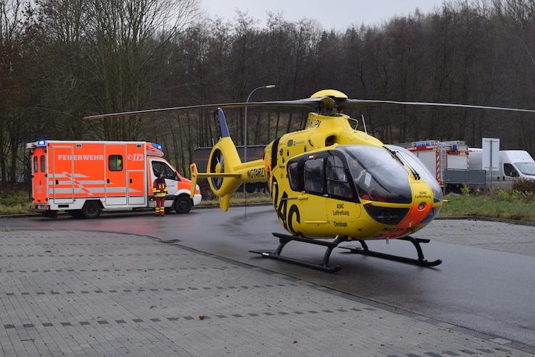 Photo of Mit Hubschrauber in Spezialklinik geflogen