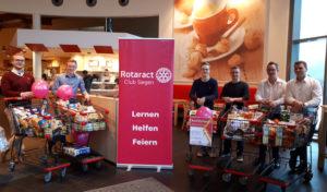 Rotaract Club Siegen unterstützt Café Patchwork