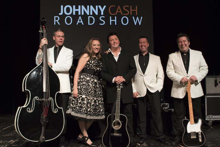 Photo of Johnny Cash Roadshow live in Soest