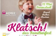 Klatsch! das Familienfest am 12. Mai
