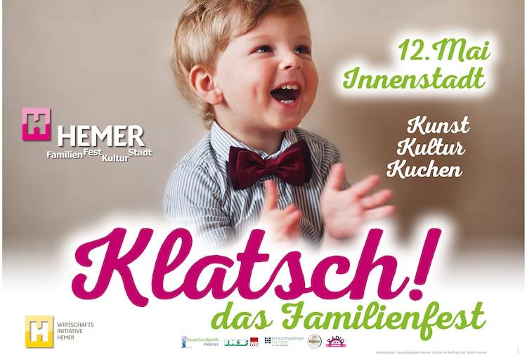 Photo of Klatsch! das Familienfest am 12. Mai