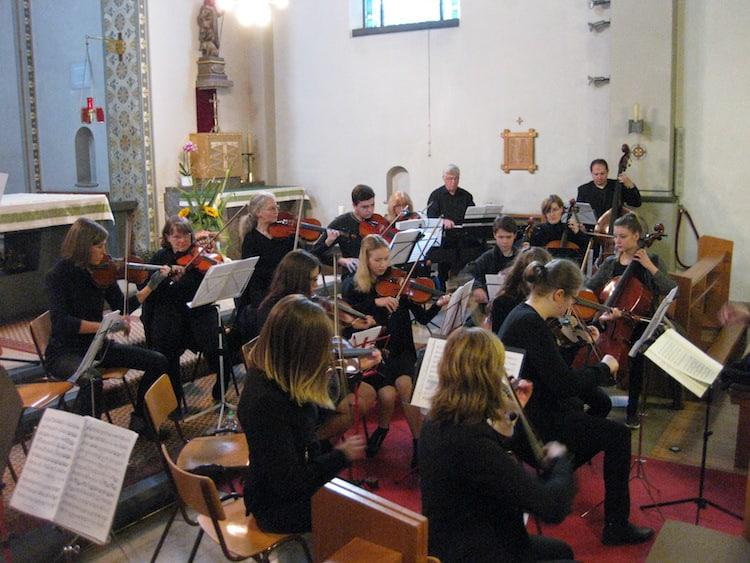 Photo of Konzert der Orchester im Städtischen Gymnasium