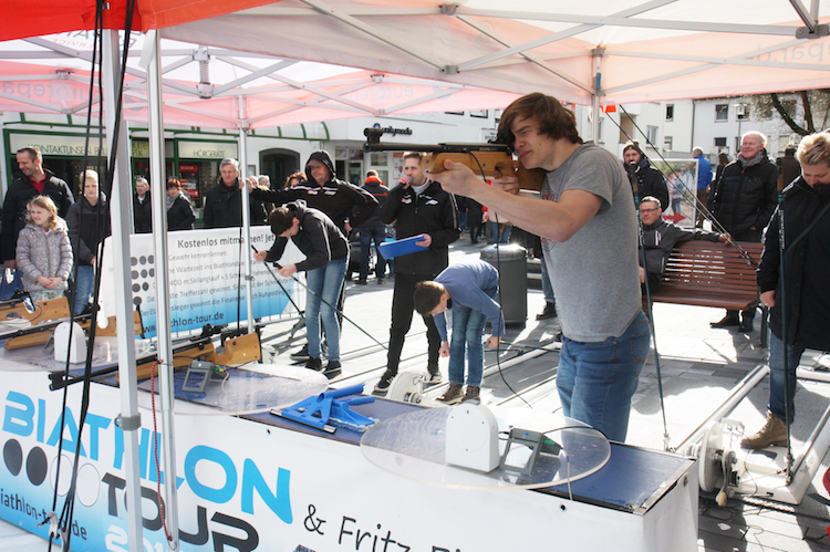 Photo of Biathlon Tour beim Mescheder Frühling