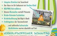 Olsberger Osterhasenfest wartet mit vielen tollen Aktionen
