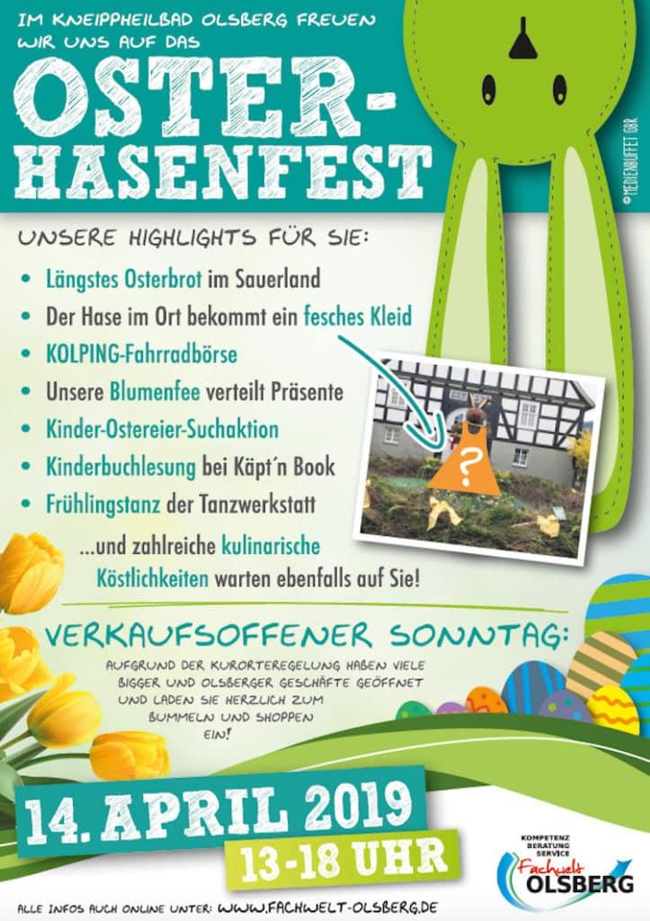 Photo of Olsberger Osterhasenfest wartet mit vielen tollen Aktionen